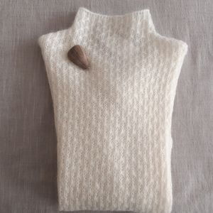 Kid Mohair Knit Sweater
